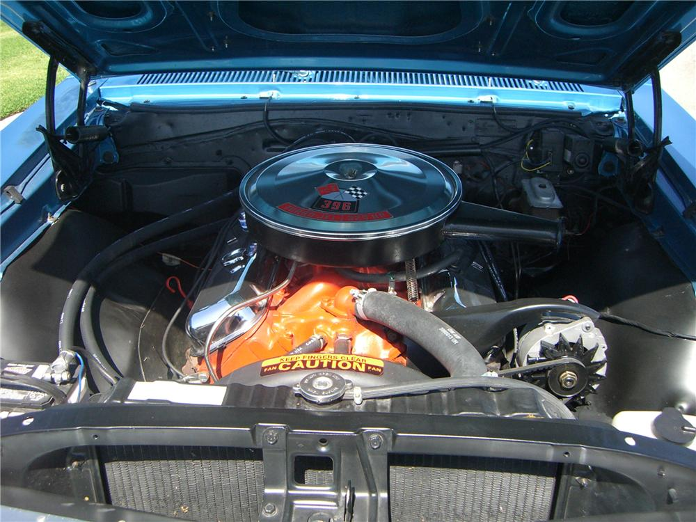 1967 CHEVROLET CHEVELLE SS 396 CONVERTIBLE - Engine - 176948