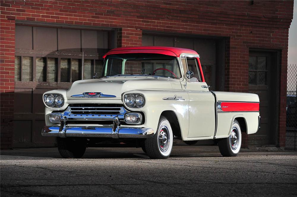 1958 CHEVROLET CAMEO PICKUP - Front 3/4 - 176957