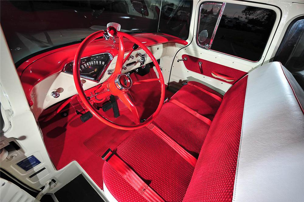 1958 CHEVROLET CAMEO PICKUP - Interior - 176957