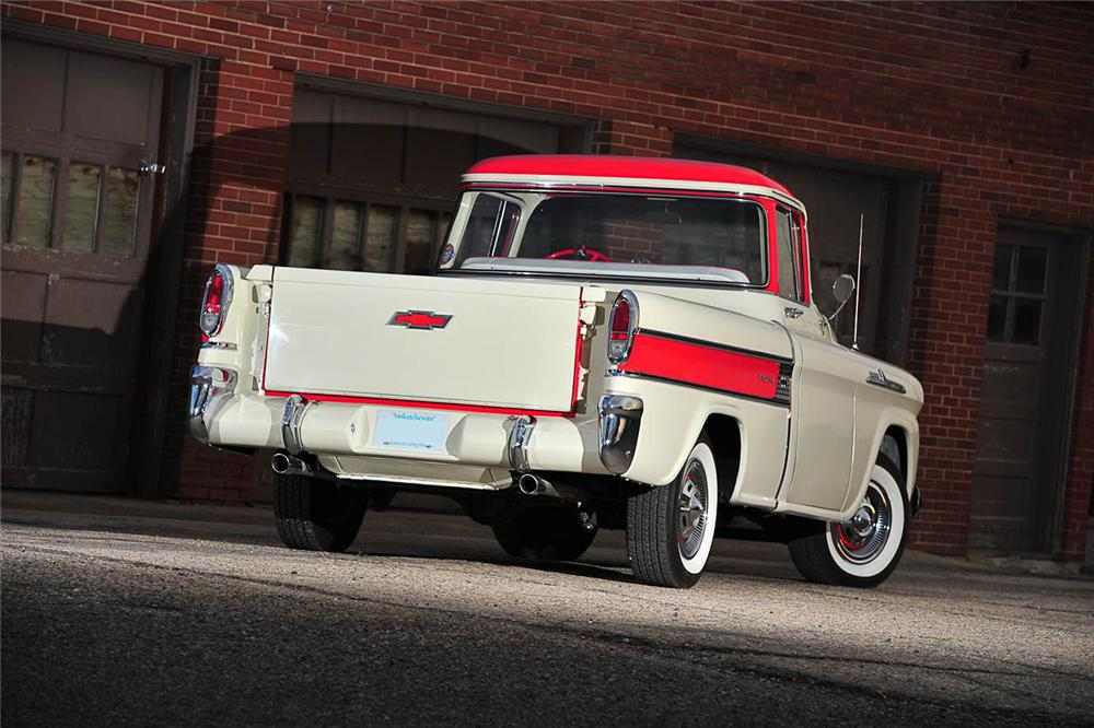 1958 CHEVROLET CAMEO PICKUP - Rear 3/4 - 176957