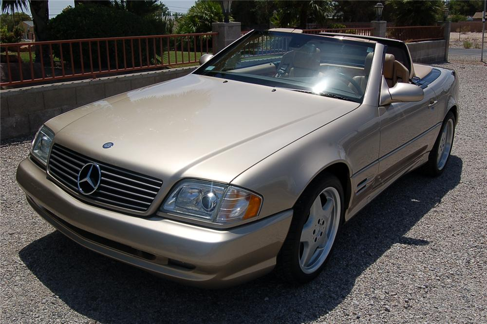 2001 mercedes benz sl500 convertible 176968