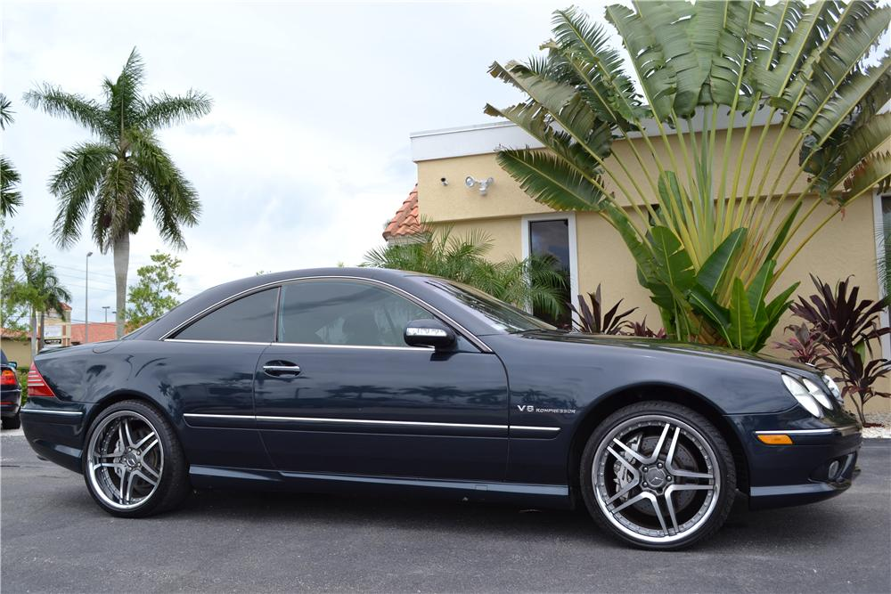 2003 MERCEDES-BENZ CL55 AMG 2 DOOR COUPE - Front 3/4 - 176972