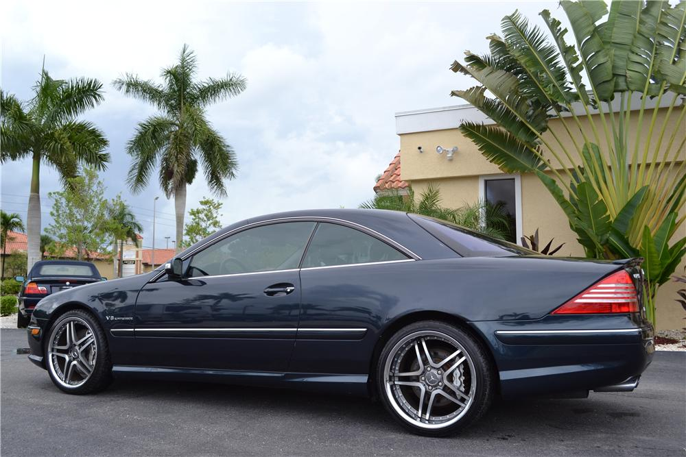 2003 MERCEDES-BENZ CL55 AMG 2 DOOR COUPE - Rear 3/4 - 176972