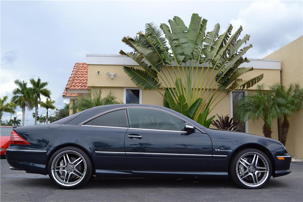 2003 MERCEDES-BENZ CL55 AMG 2 DOOR COUPE - Side Profile - 176972