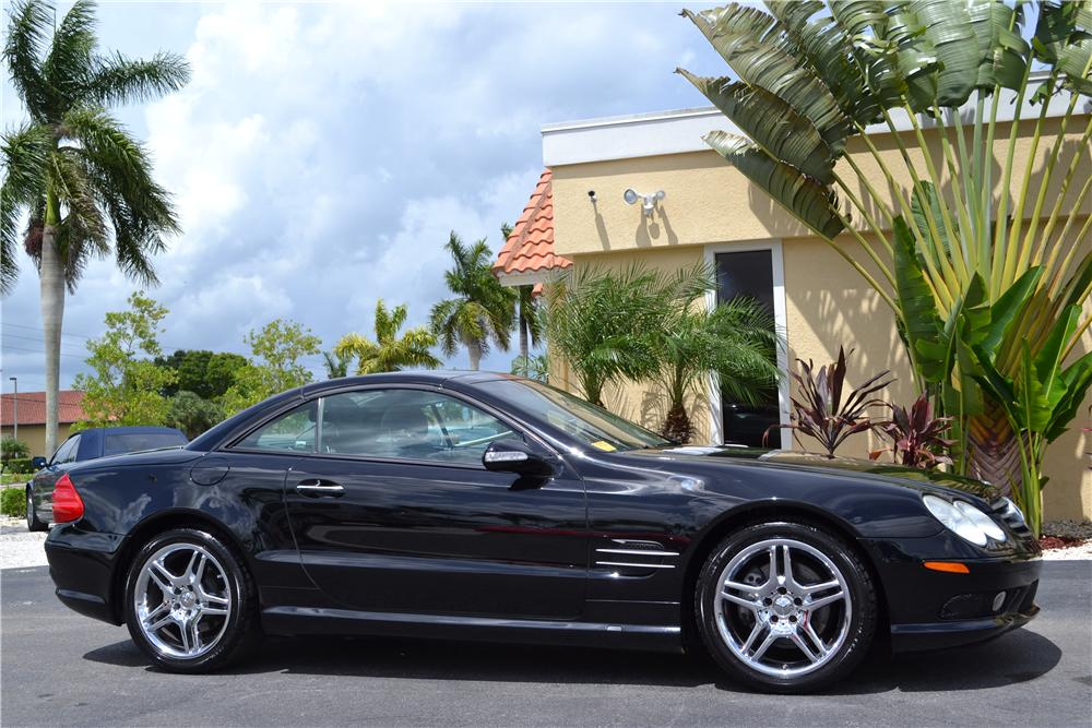2003 Mercedes Benz Sl500 Convertible 176973