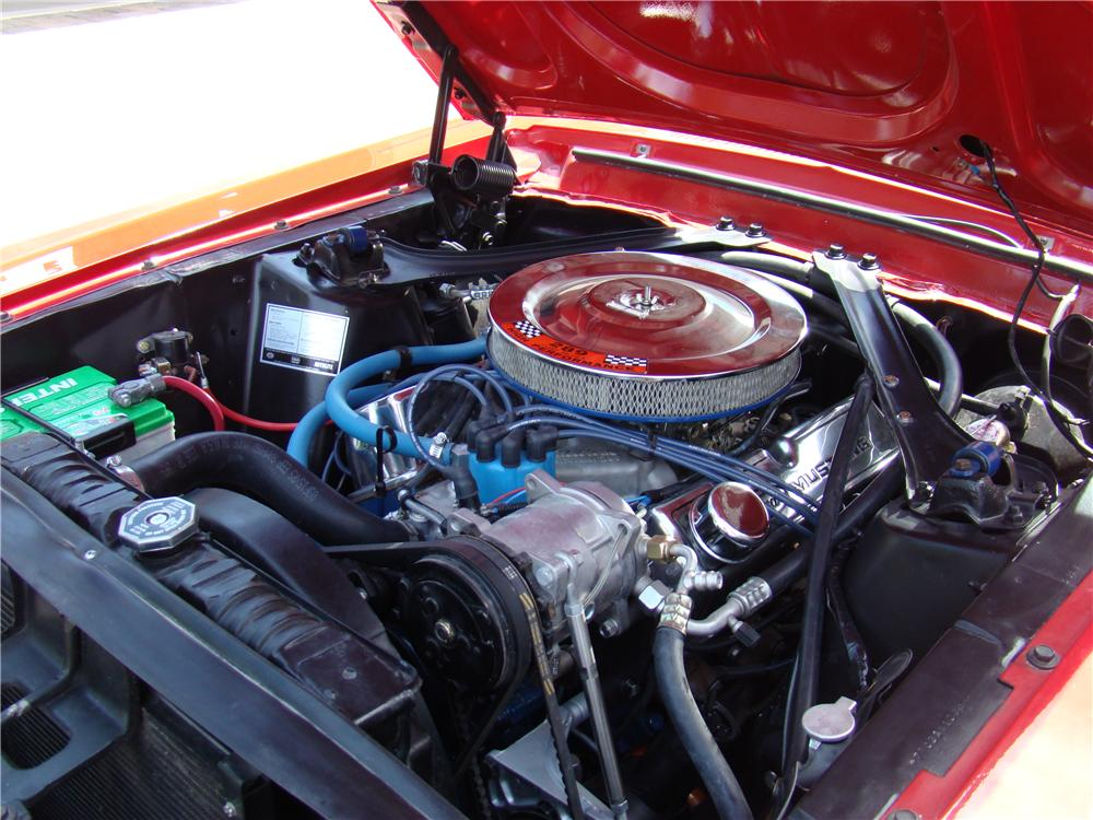 1967 FORD MUSTANG GT CONVERTIBLE - Engine - 176987