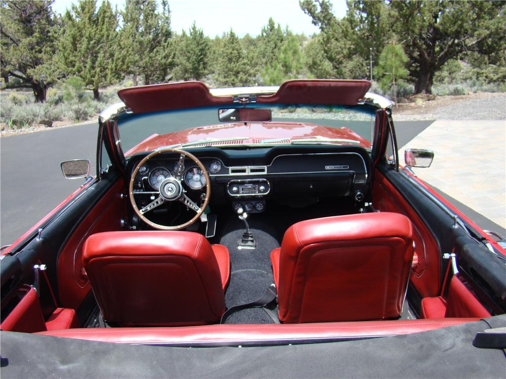 1967 ford mustang gt convertible interior 176987 - 1967 Ford Mustang Convertible Interior