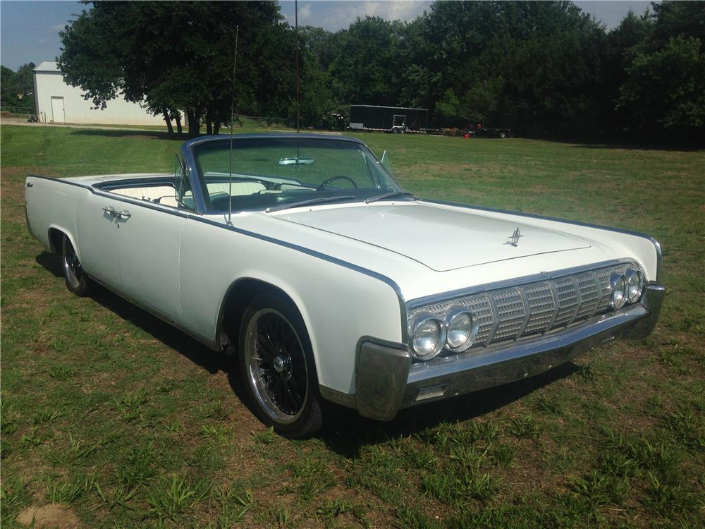 1964 LINCOLN CONTINENTAL CONVERTIBLE - Front 3/4 - 176992