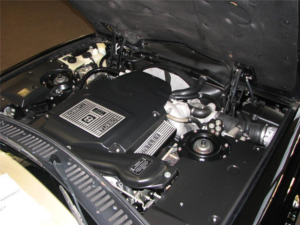 2000 BENTLEY CONTINENTAL R MILLENNIUM COUPE - Engine - 177004