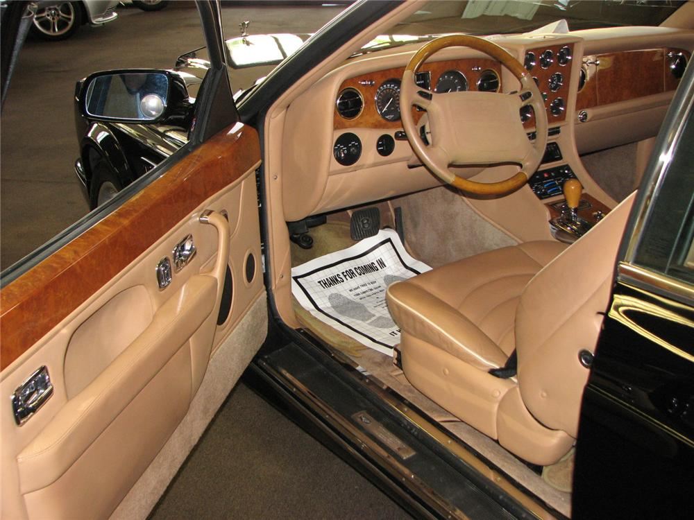 2000 BENTLEY CONTINENTAL R MILLENNIUM COUPE - Interior - 177004