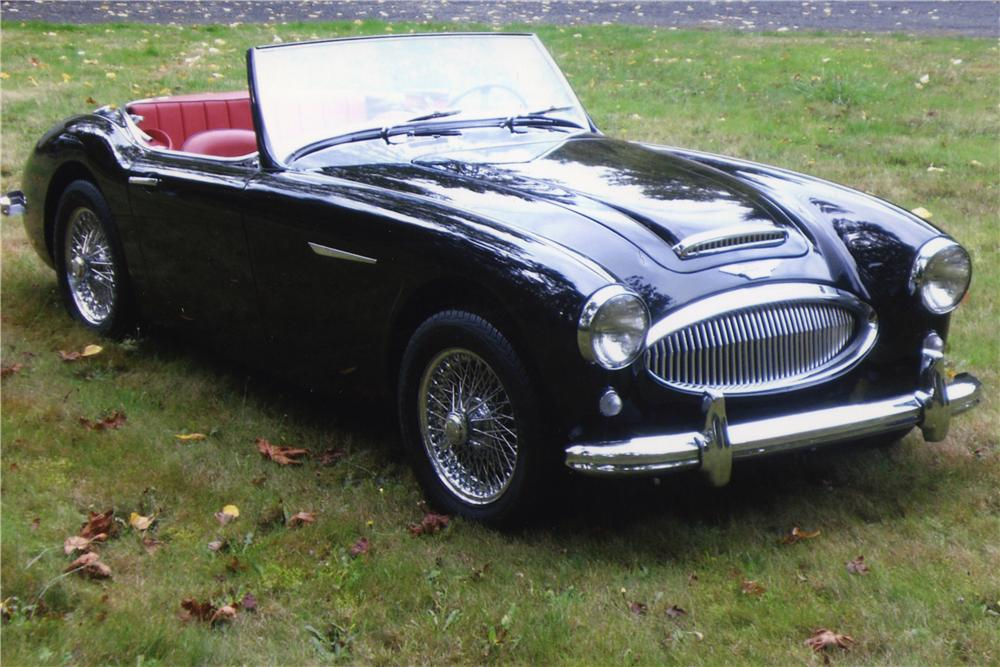 1962 AUSTIN-HEALEY 3000 BT7 ROADSTER - Front 3/4 - 177005