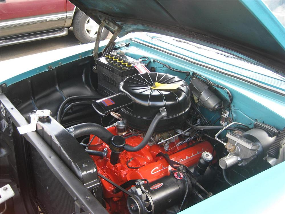 1955 CHEVROLET NOMAD STATION WAGON - Engine - 177008