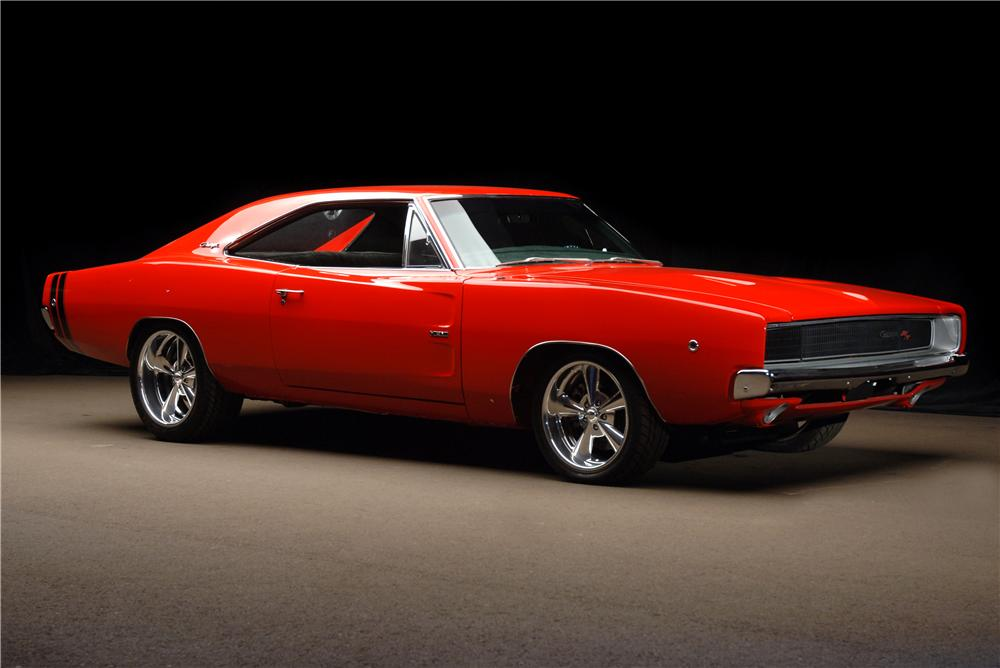 1968 dodge charger r t custom 2 door hardtop 177013. Black Bedroom Furniture Sets. Home Design Ideas