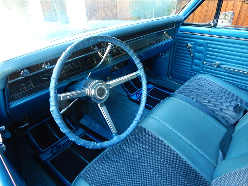 1967 CHEVROLET MALIBU STATION WAGON - Interior - 177018