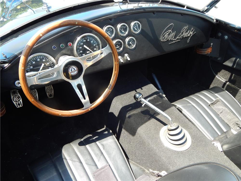 1967 SHELBY COBRA RE-CREATION  - Interior - 177021
