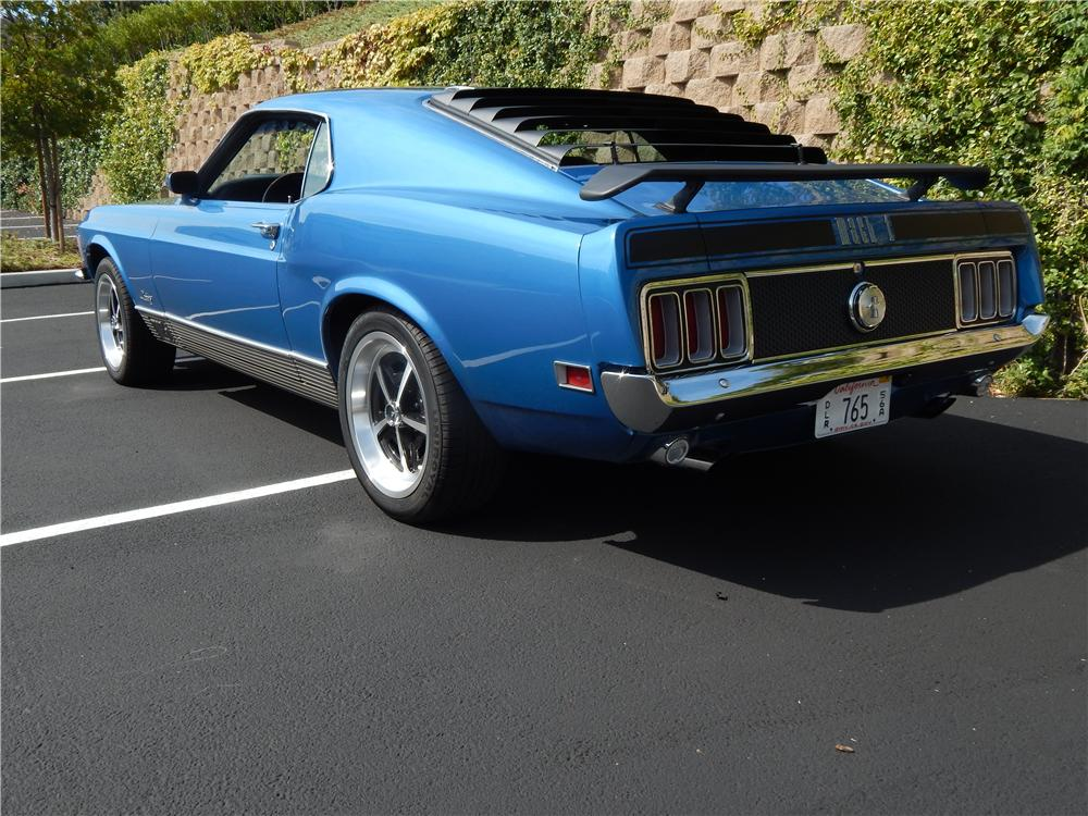 1970 FORD MUSTANG MACH 1 FASTBACK - Rear 3/4 - 177022