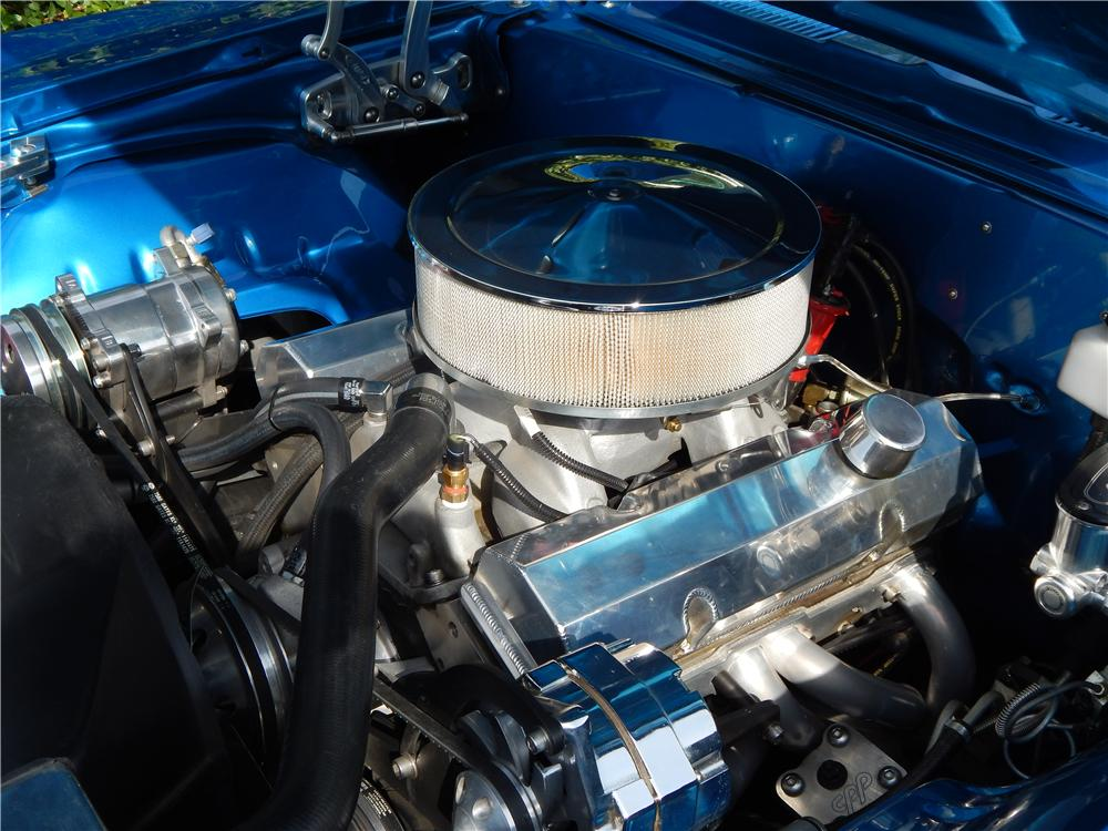 1969 CHEVROLET CAMARO CUSTOM 2 DOOR COUPE - Engine - 177024