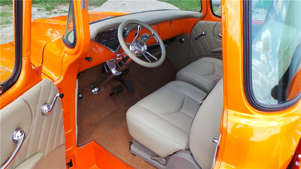 1957 CHEVROLET 3100 CUSTOM PICKUP - Interior - 177031