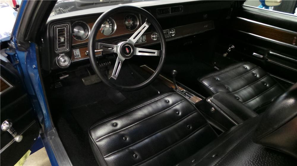 1971 OLDSMOBILE CUTLASS 442 2 DOOR HARDTOP - Interior - 177033