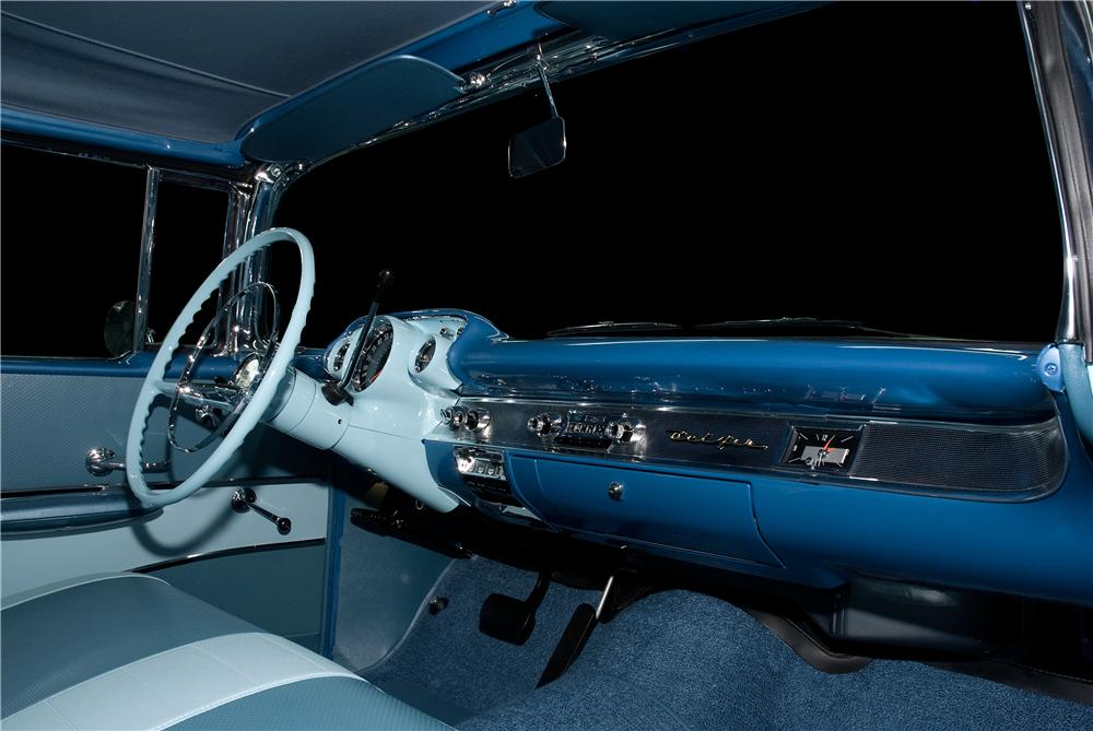 1957 CHEVROLET BEL AIR CONVERTIBLE - Interior - 177039