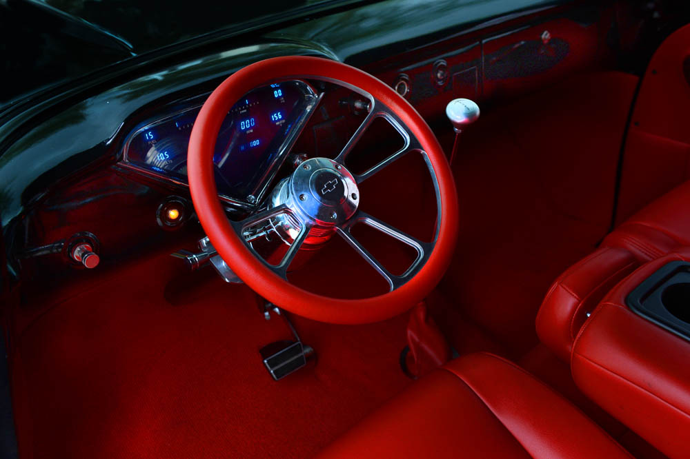 1955 CHEVROLET CUSTOM PICKUP - Interior - 177042