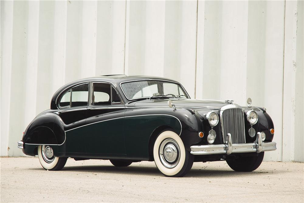 1957 Jaguar Mark Viii Saloon