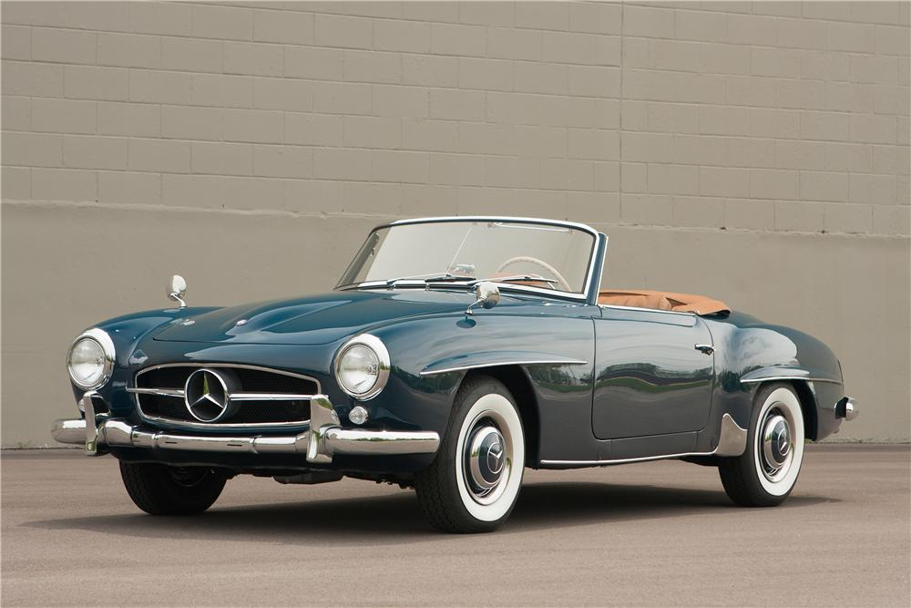 1956 mercedes benz 190sl roadster 177048