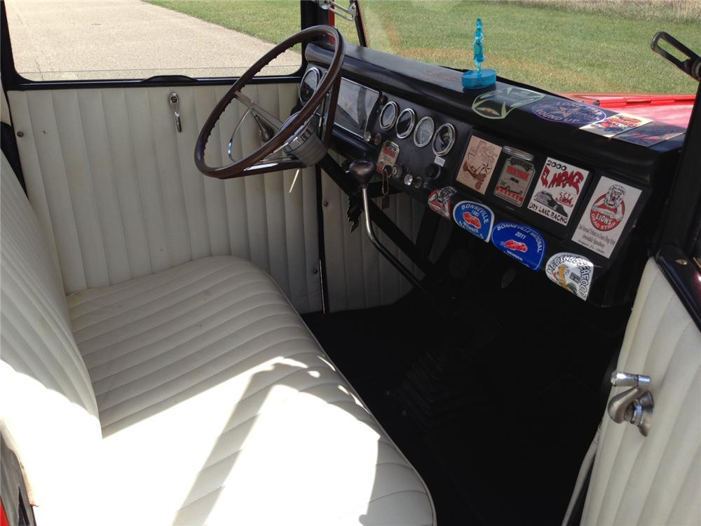 1930 FORD CUSTOM PICKUP - Interior - 177050
