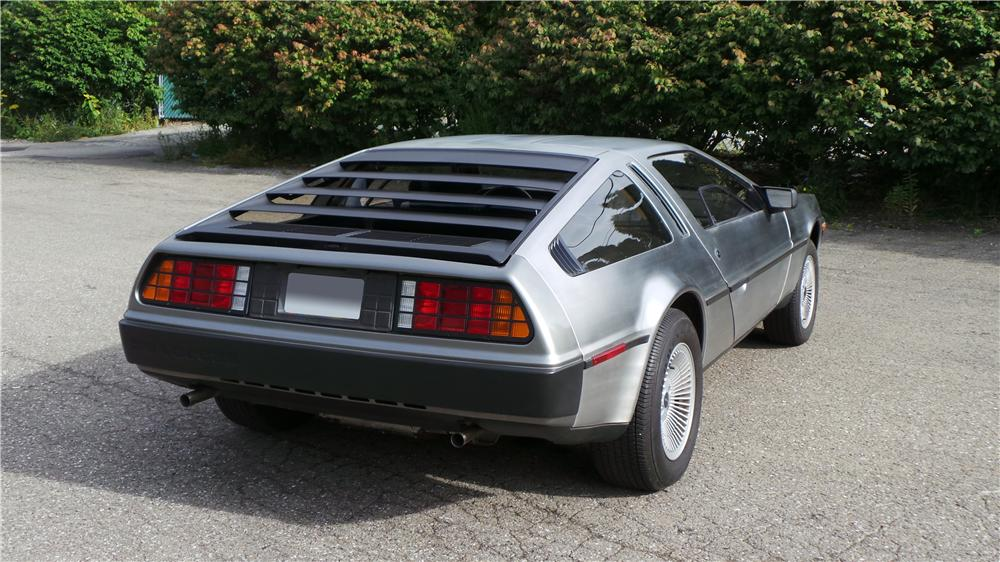 1981 DELOREAN DMC-12 2 DOOR COUPE - Rear 3/4 - 177054