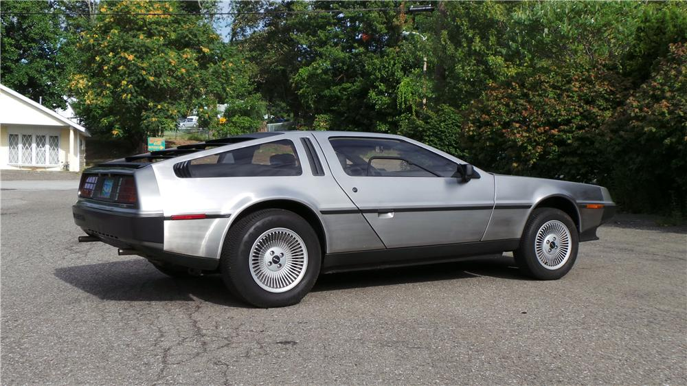 1981 DELOREAN DMC-12 2 DOOR COUPE - Side Profile - 177054