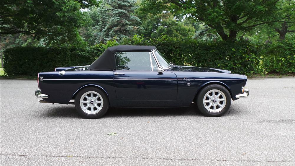 1966 SUNBEAM TIGER CONVERTIBLE - Side Profile - 177055