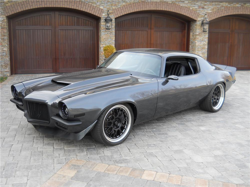 1972 CHEVROLET CAMARO CUSTOM 2 DOOR COUPE - Front 3/4 - 177057