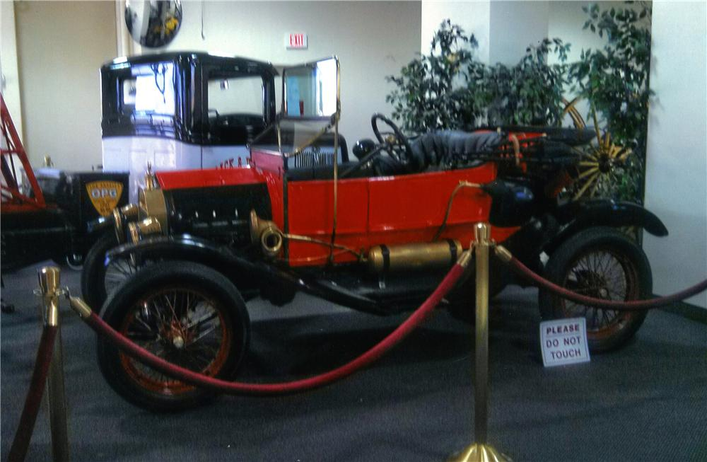 1911 FORD MODEL T CONVERTIBLE - Front 3/4 - 177067