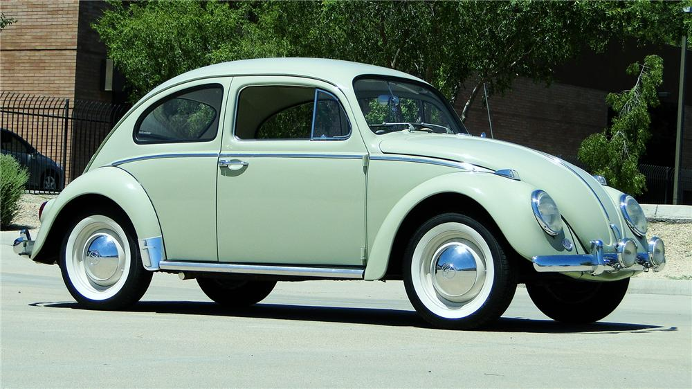 1964 VOLKSWAGEN BEETLE 2 DOOR SEDAN - Front 3/4 - 177074