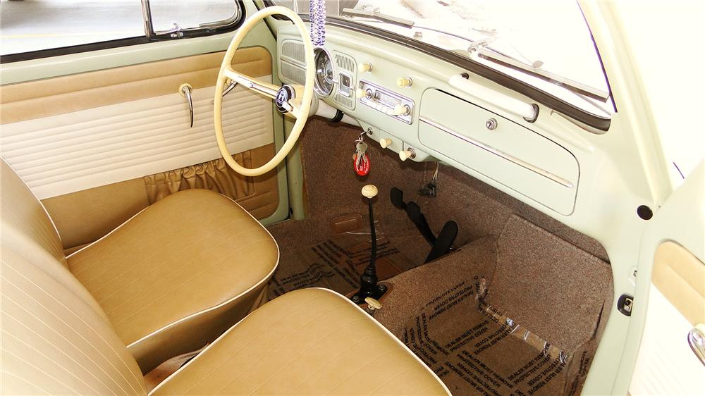 1964 VOLKSWAGEN BEETLE 2 DOOR SEDAN - Interior - 177074