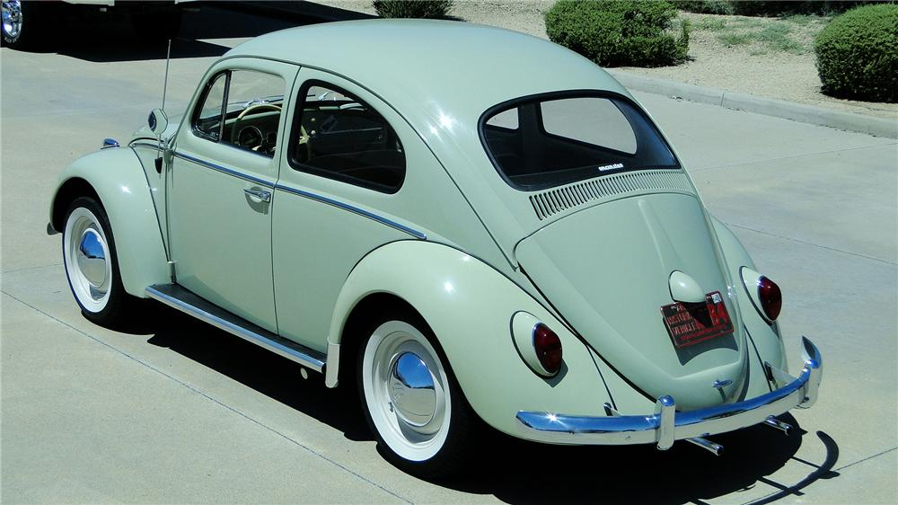 1964 VOLKSWAGEN BEETLE 2 DOOR SEDAN - Rear 3/4 - 177074