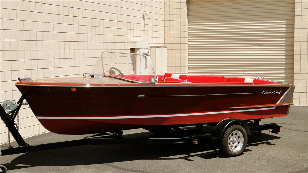 1959 CHRISCRAFT CONTINENTAL 18' BOAT - Side Profile - 177078