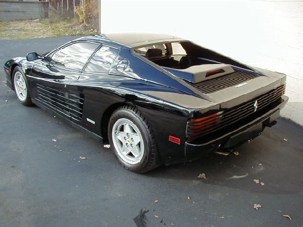 1991 FERRARI TESTAROSSA UNKNOWN - Rear 3/4 - 17708