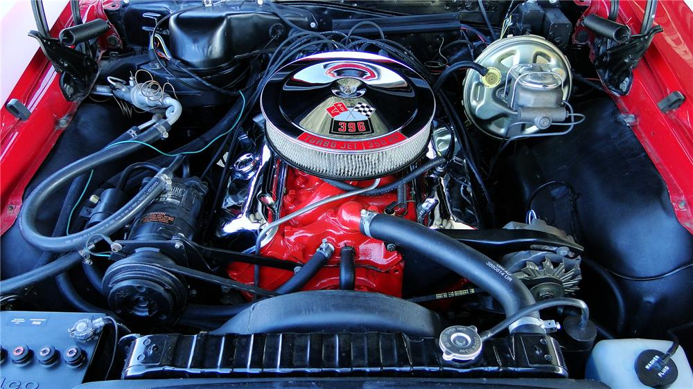 1967 CHEVROLET CHEVELLE SS CONVERTIBLE - Engine - 177085