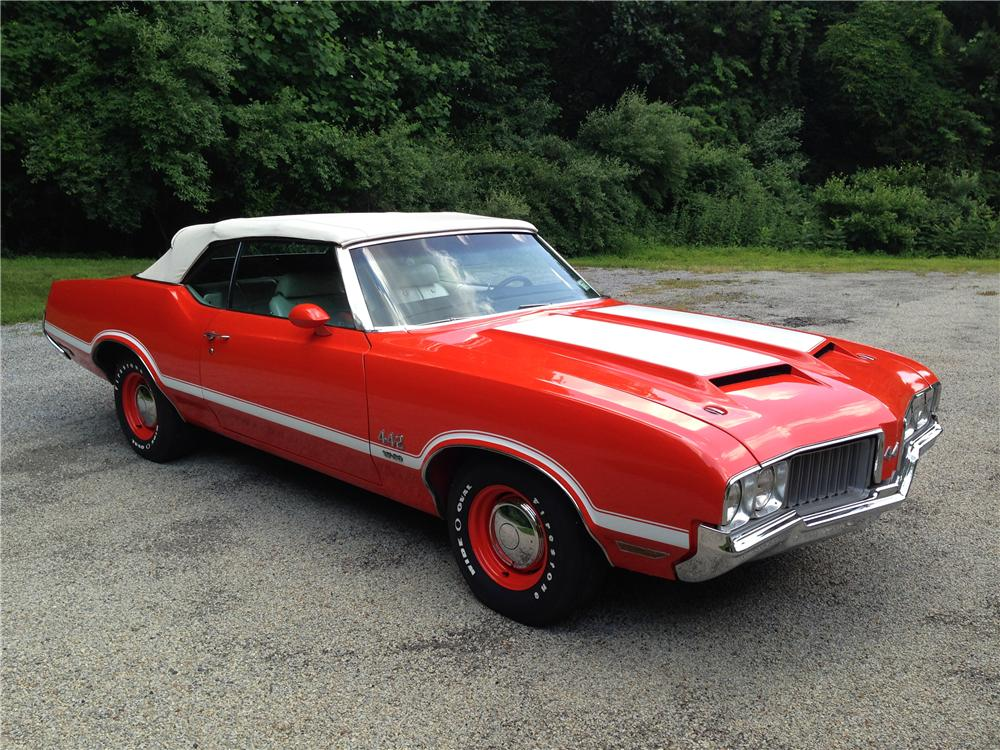 1970 OLDSMOBILE 442 W30 CONVERTIBLE - Front 3/4 - 177089