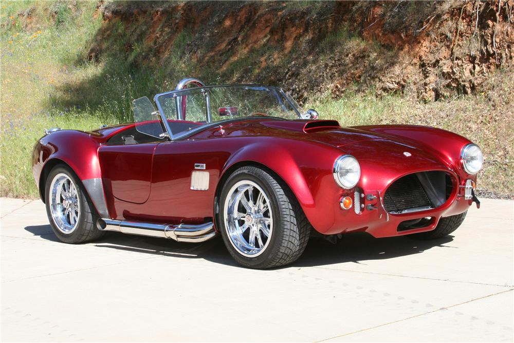 1965 SHELBY COBRA RE-CREATION ROADSTER - 177093