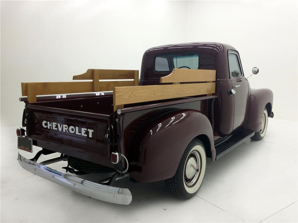 1949 CHEVROLET 3100 CUSTOM PICKUP - Rear 3/4 - 177096