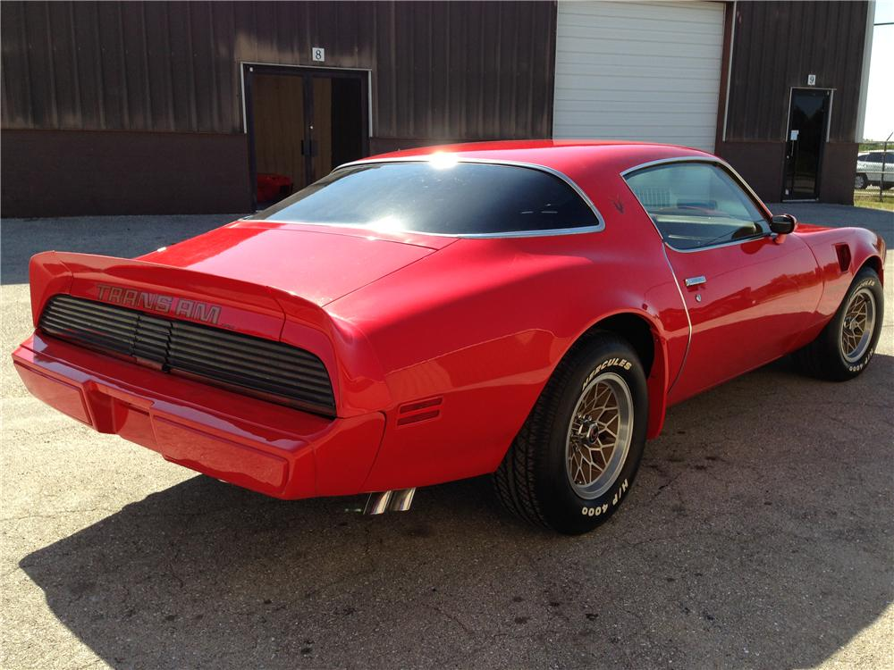 1979 PONTIAC FIREBIRD TRANS AM 2 DOOR COUPE - Rear 3/4 - 177106
