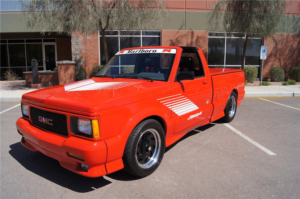 1991 GMC SYCLONE PICKUP - Front 3/4 - 177112