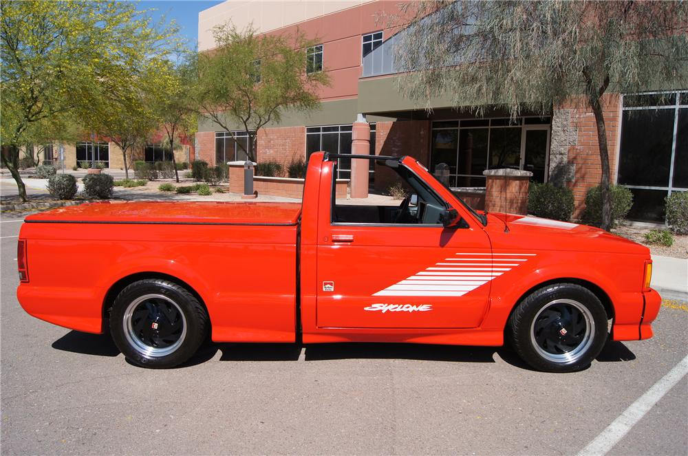 1991 GMC SYCLONE PICKUP - Side Profile - 177112
