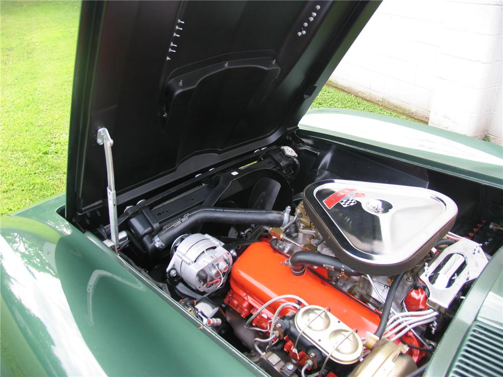 1967 CHEVROLET CORVETTE 2 DOOR COUPE - Engine - 177124