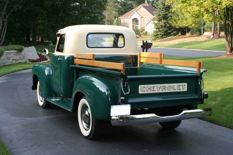 1949 CHEVROLET 3100 PICKUP - Rear 3/4 - 177133