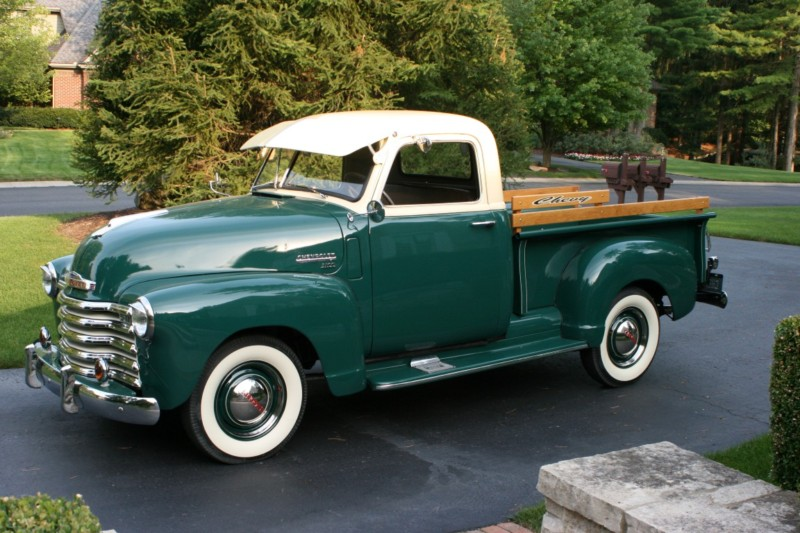 1949 CHEVROLET 3100 PICKUP - Side Profile - 177133