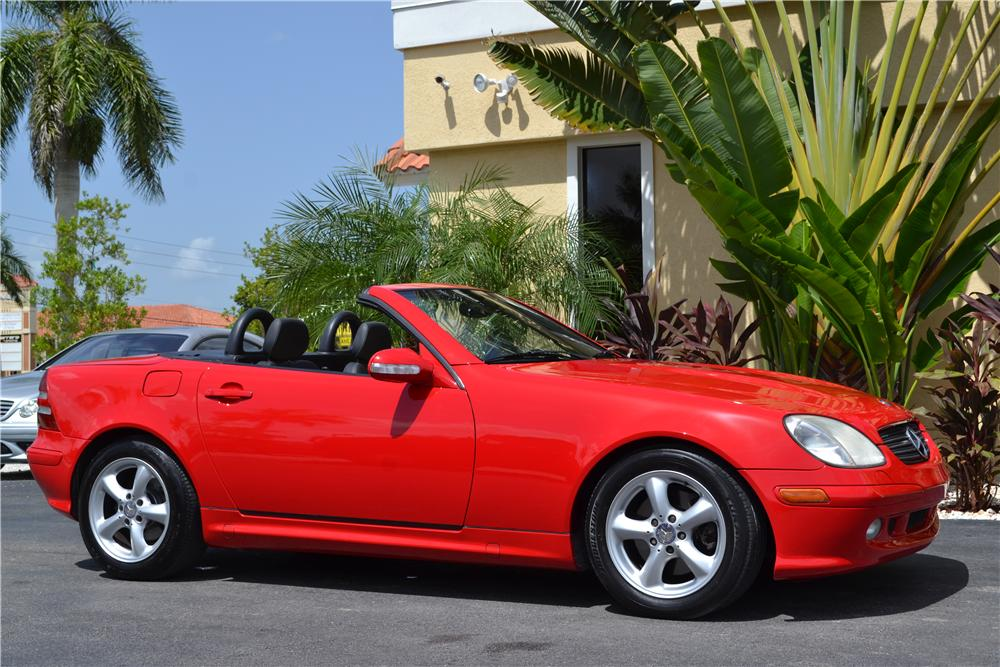 2001 mercedes benz slk320 convertible 177143
