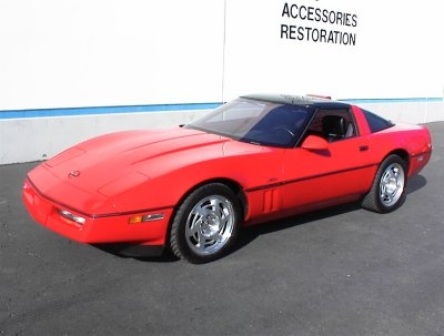 1990 CHEVROLET CORVETTE ZR1 UNKNOWN - Front 3/4 - 17715